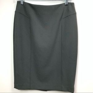 Halogen Stretch pencil skirt gray women's size 2